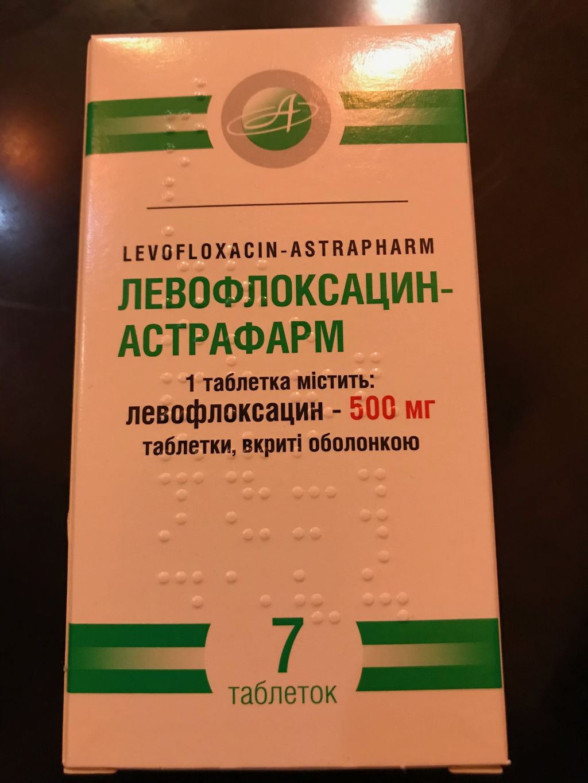 594 АБИФЛОКС® - Levofloxacin