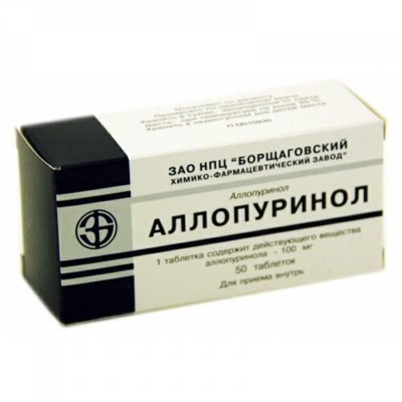 1214 АЛОПУРИНОЛ - Allopurinol