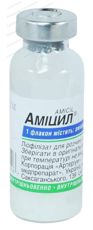 1695 АМІЦИЛ® - Amikacin