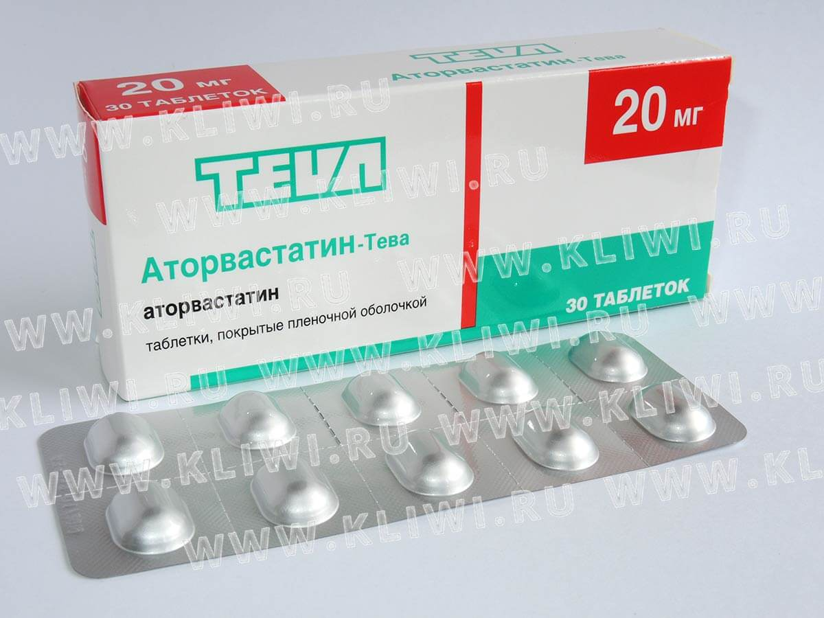 2494 АТОРВАСТАТИН-ТЕВА - Atorvastatin