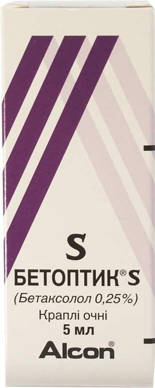 3220 БЕТОПТИК® S - Betaxolol