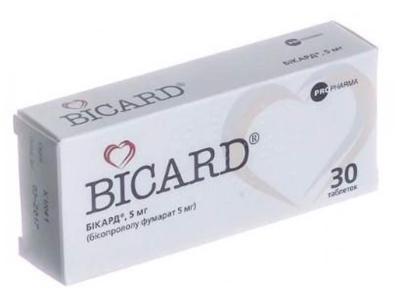 3270 БІКАРД® - Bisoprolol