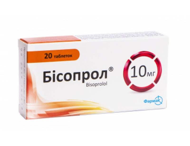 3448 БІСОПРОЛ® - Bisoprolol