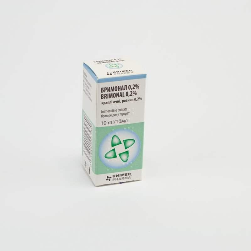 3658 БРИМОНАЛ 0,2 % - Brimonidine
