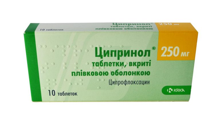 24547 ЦИПРИНОЛ® - Ciprofloxacin