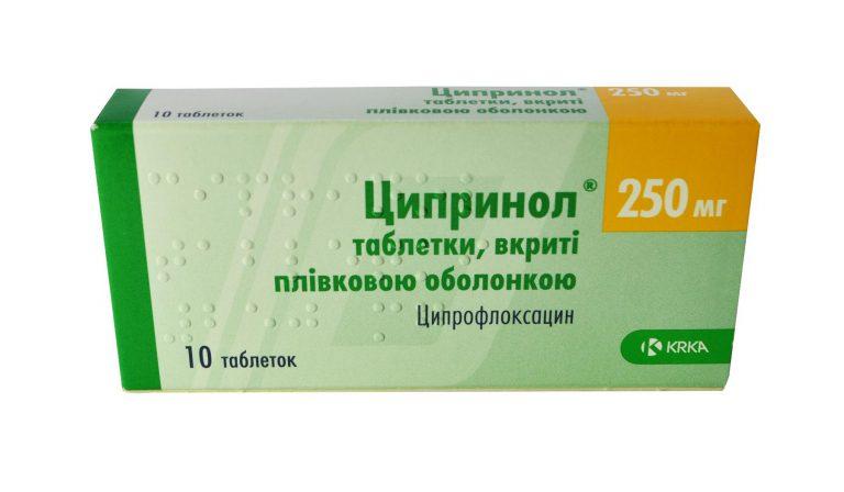 24545 ЦИПРИНОЛ® - Ciprofloxacin