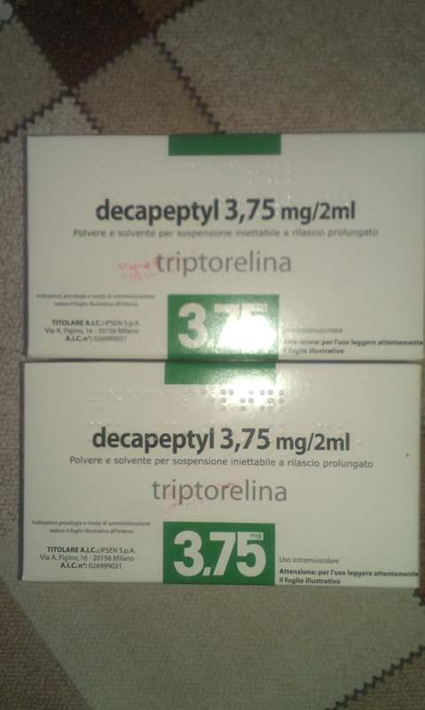 6361 ДЕКАПЕПТИЛ - Triptorelin