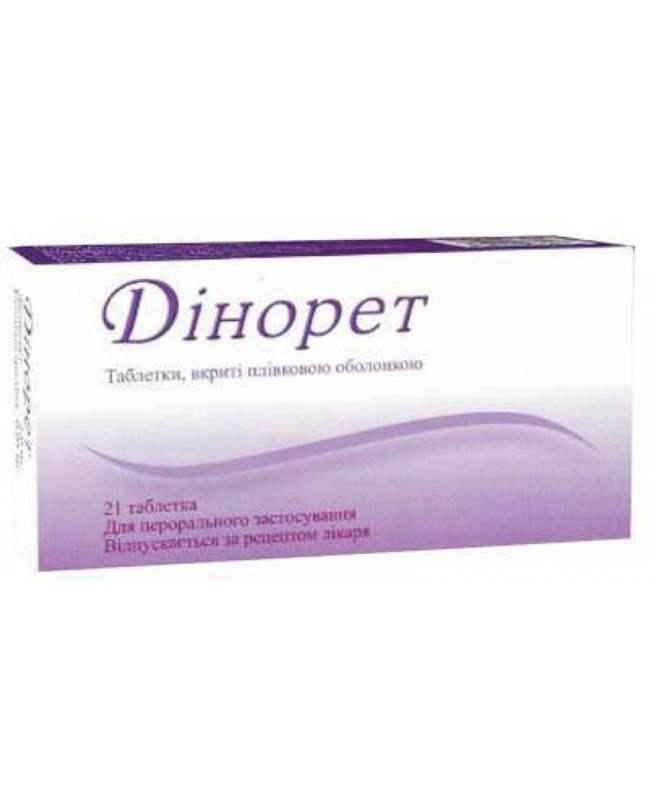 7131 ДІНОРЕТ - Dienogest and estrogen
