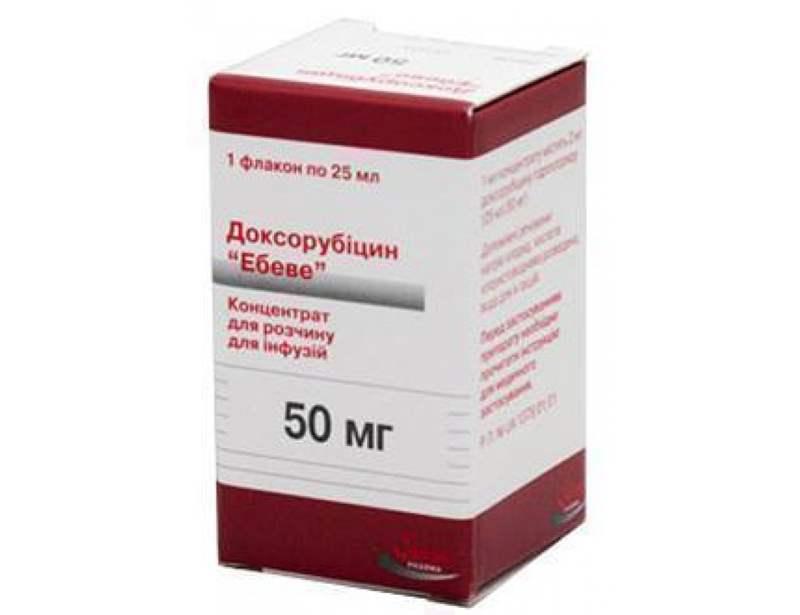 """7259 ДОКСОРУБІЦИН """"ЕБЕВЕ"""" - Doxorubicin"""