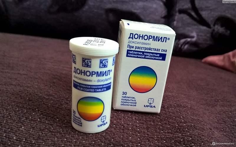 7331 ДОНОРМІЛ - Doxylamine