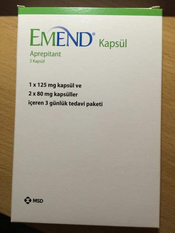 7943 ЕМЕНД® - Aprepitant
