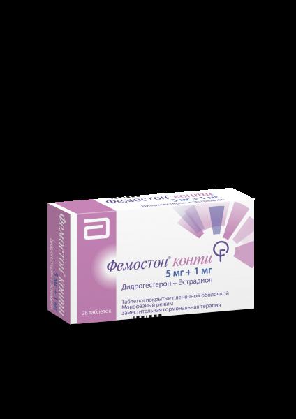 22713 ФЕМОСТОН® КОНТІ МІНІ - Dydrogesterone and estrogen