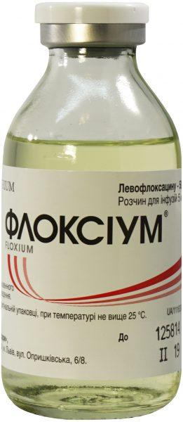 23073 ФЛОКСІУМ® - Levofloxacin