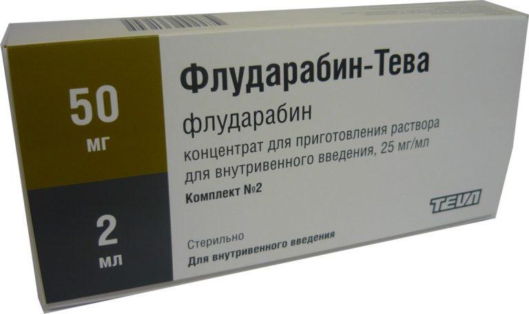 23098 ФЛУДАРАБІН-ТЕВА - Fludarabine