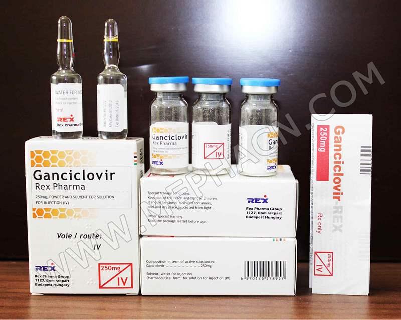 5080 ГАНЦИКЛОВІР-ФАРМЕКС - Ganciclovir
