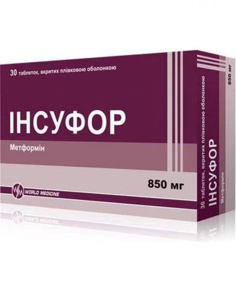 9753 ІНСУФОР - Metformin