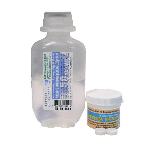 11019 КИСЛОТА АМІНОКАПРОНОВА-ДАРНИЦЯ - Aminocaproic acid