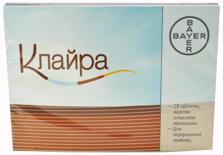 11097 КЛАЙРА - Dienogest and estradiol