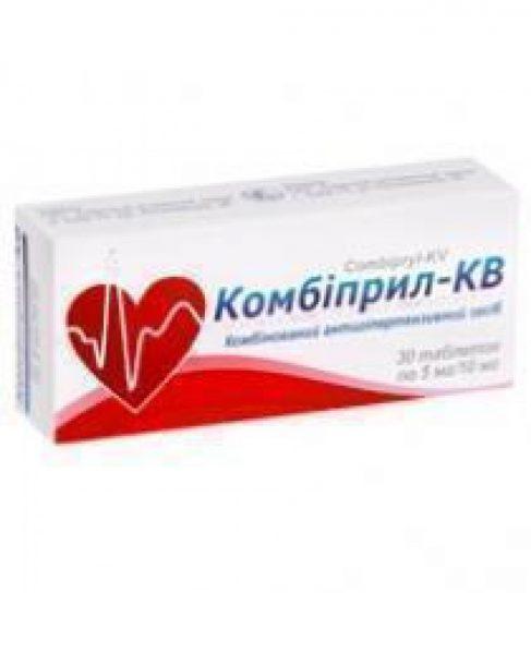 11498 КОМБІПРИЛ-КВ - Lisinopril and amlodipine