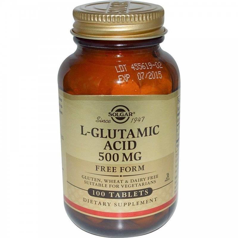 474 L-ГЛУТАМІНОВА КИСЛОТА - Glutamic acid*