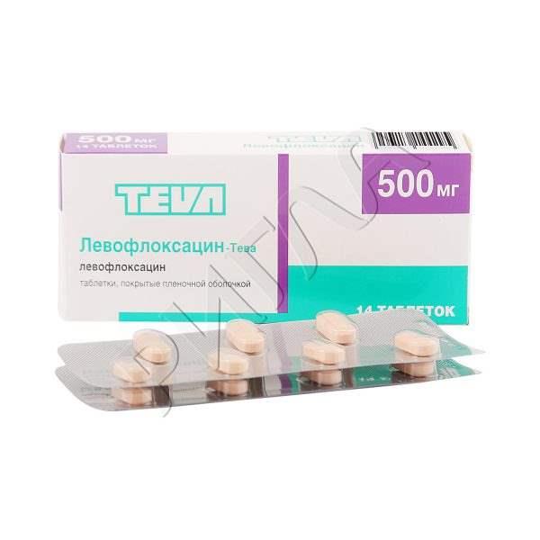 12013 Л-ОПТИК РОМФАРМ - Levofloxacin