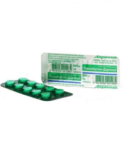12516 ЛЕВОМІЦЕТИН - Chloramphenicol