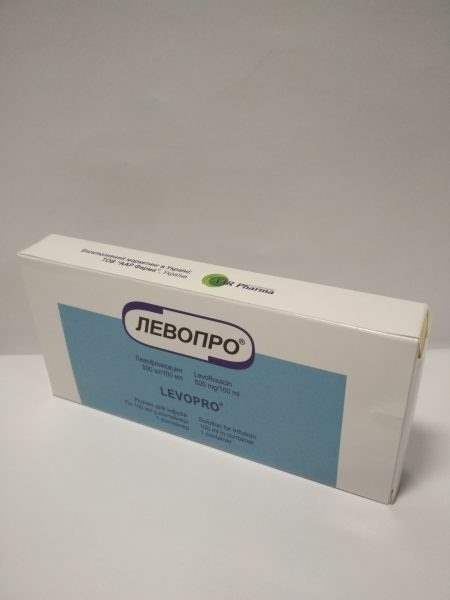 12532 ЛЕВОПРО® - Levofloxacin