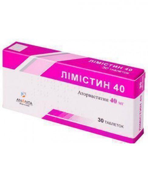 12930 ЛІМІСТИН 20 - Atorvastatin