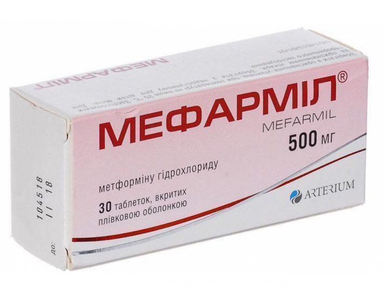 14438 МЕФАРМІЛ® - Metformin