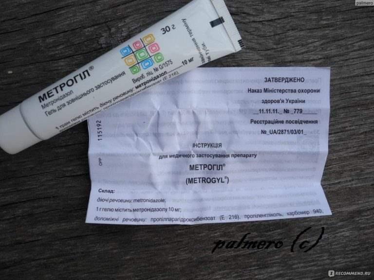 14316 МЕТРОГІЛ® - Metronidazole