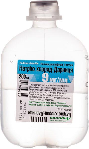 15345 НАТРІЮ ХЛОРИД-ДАРНИЦЯ - Sodium chloride