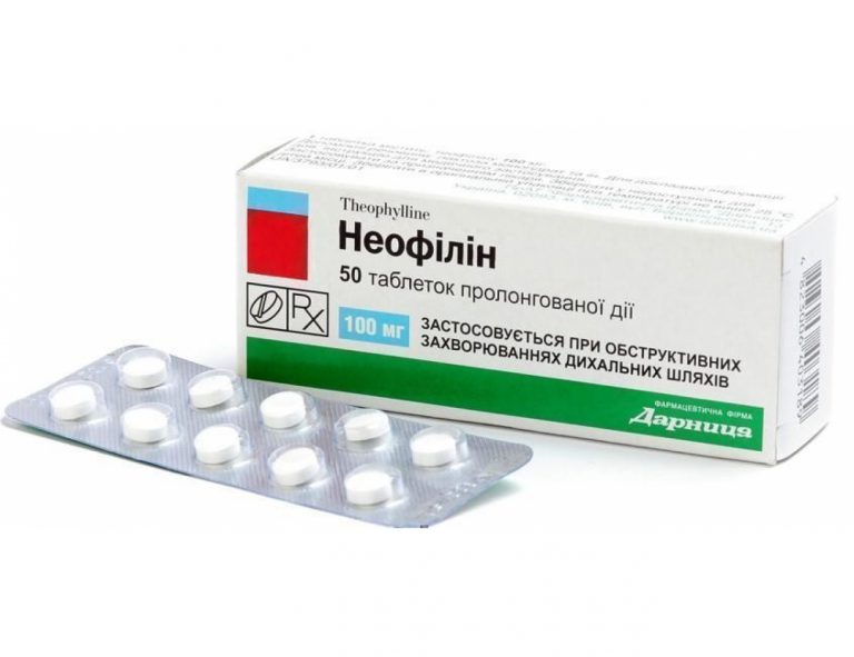 15619 НЕОФІЛІН - Theophylline