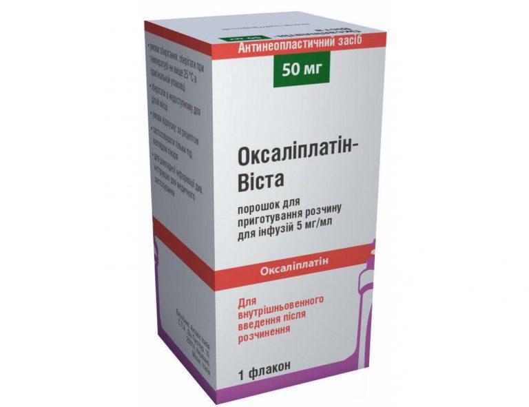 16379 ОКСАЛІПЛАТІН-ВІСТА - Oxaliplatin