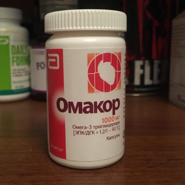16550 ОМАКОР - Omega-3-triglycerides incl. other esters and acids