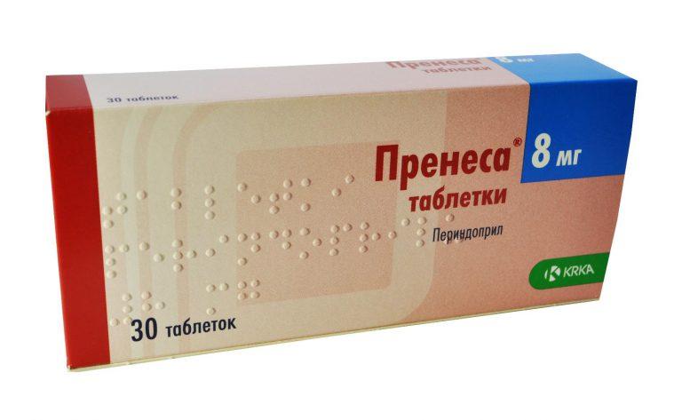 18118 ПРЕНЕСА® ОРО ТАБ - Perindopril
