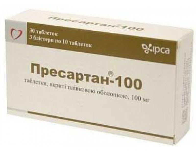 18126 ПРЕСАРТАН® 100 - Losartan