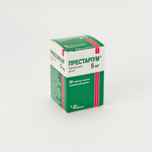18143 Престаріум® ORO 5 мг - Perindopril