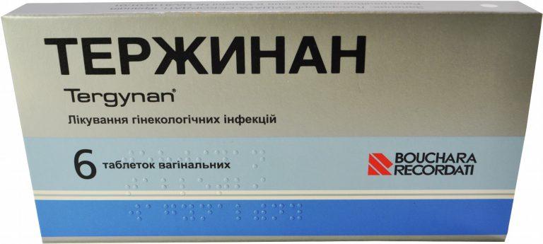21531 ТЕРЖИНАН - Comb drug