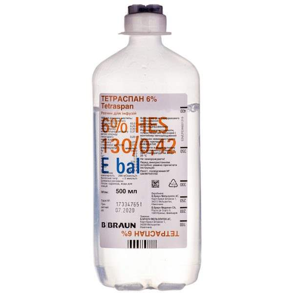 21561 ТЕТРАСПАН 6 % - Comb drug