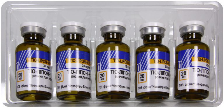 21690 ТІО-ЛІПОН–НОВОФАРМ - Thioctic acid