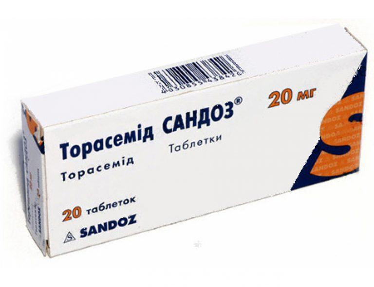 21865 ТОРАСЕМІД САНДОЗ® - Torasemide