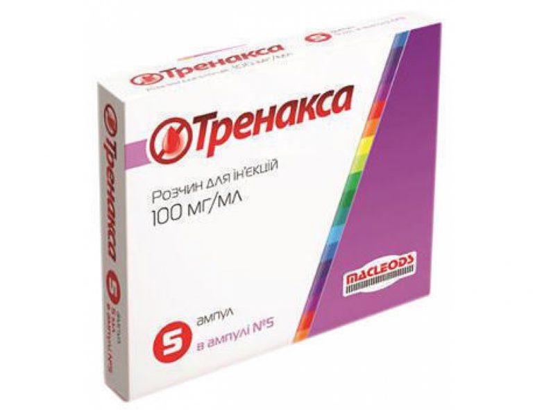 22033 ТРЕНАКСА - Tranexamic acid