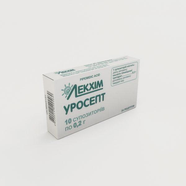 22454 УРОСЕПТ - Pipemidic acid