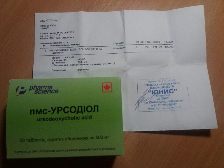 22500 УРСОХОЛ® - Ursodeoxycholic acid