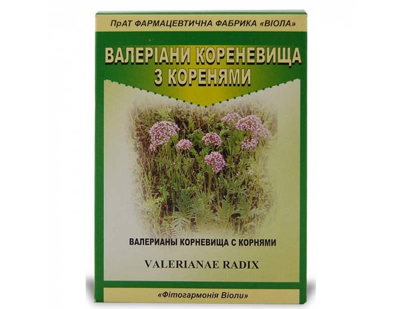 4055 ВАЛЕРІАНИ КОРЕНЕВИЩА З КОРЕНЯМИ - Valerianae radix