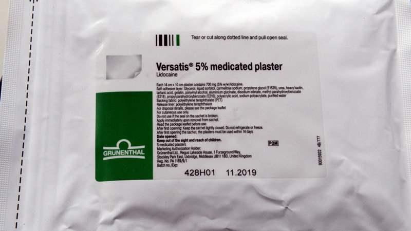 4427 ВЕРСАТІС - Lidocaine