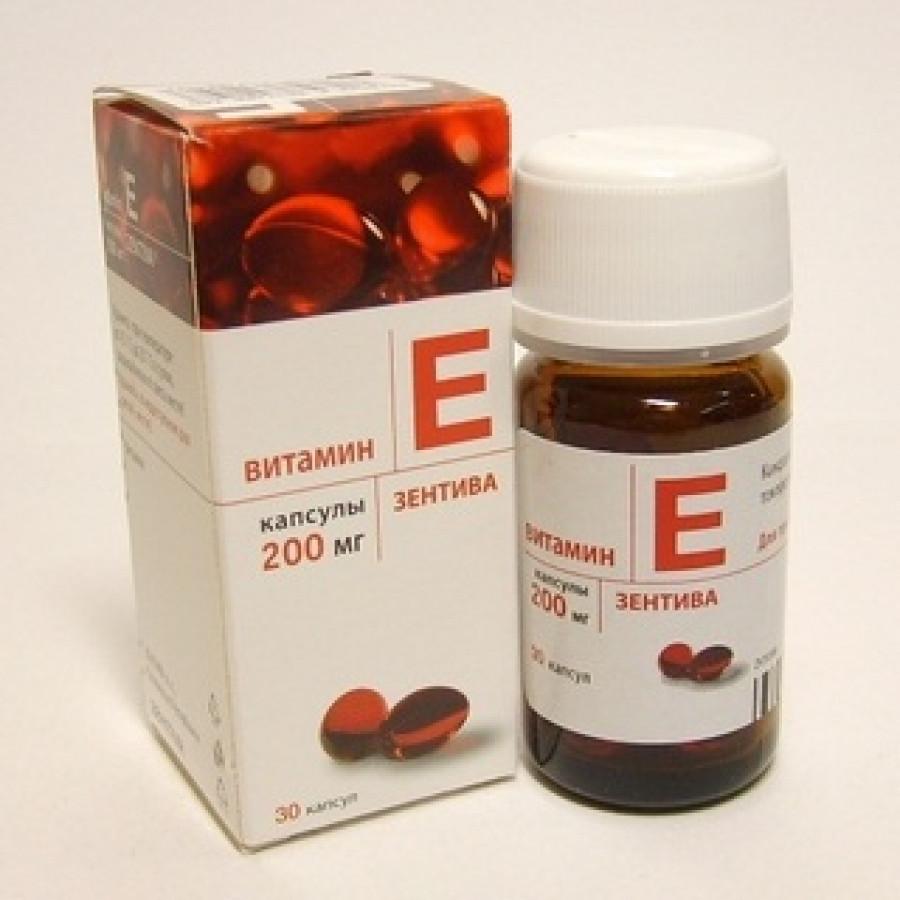 4760 ВІТАМІН Е-ЗЕНТІВА - Tocopherol (vit E)