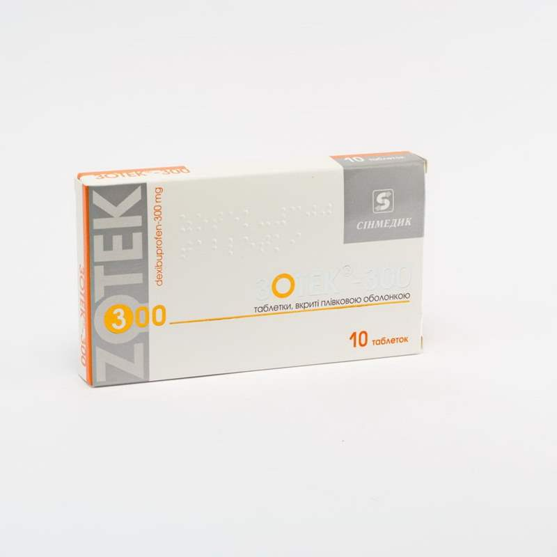 9241 ЗОТЕК®-400 - Dexibuprofen